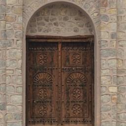 Door at Al Naqbi Tower, Khatt
