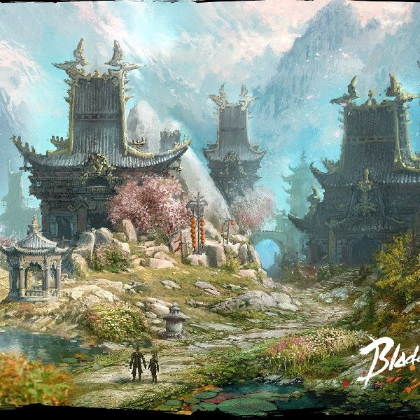 Massive multiplayer online role playing game art
