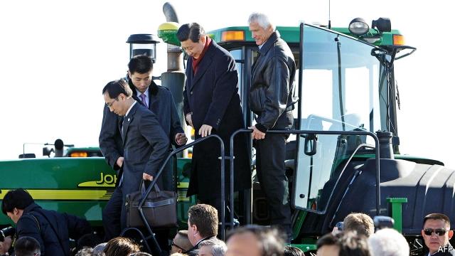 A corny tale: China imports a farm from Iowa — A slice of the Midwest outside Beijing via TheGhostOfTzvika