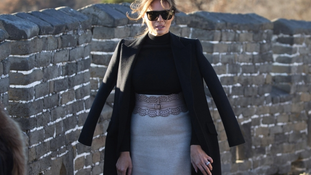 Melania Trump: First lady visits Great Wall of China via hasnatkhans