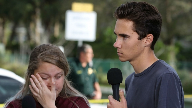 "Fla. shooting survivor and family receive death threats after conspiracy theories circulate that they are ""actors"" via JW_BM"