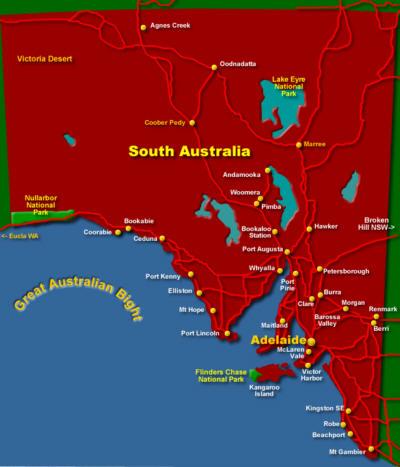 Local Government Areas in South Australia Australia Glitchdata
