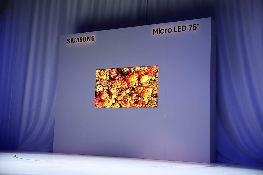 Samsung 75-inch MicroLED