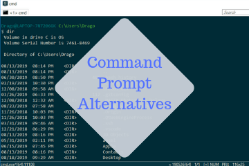 Command Prompt Alternatives