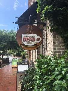 Walking Dead Filming-Coffee