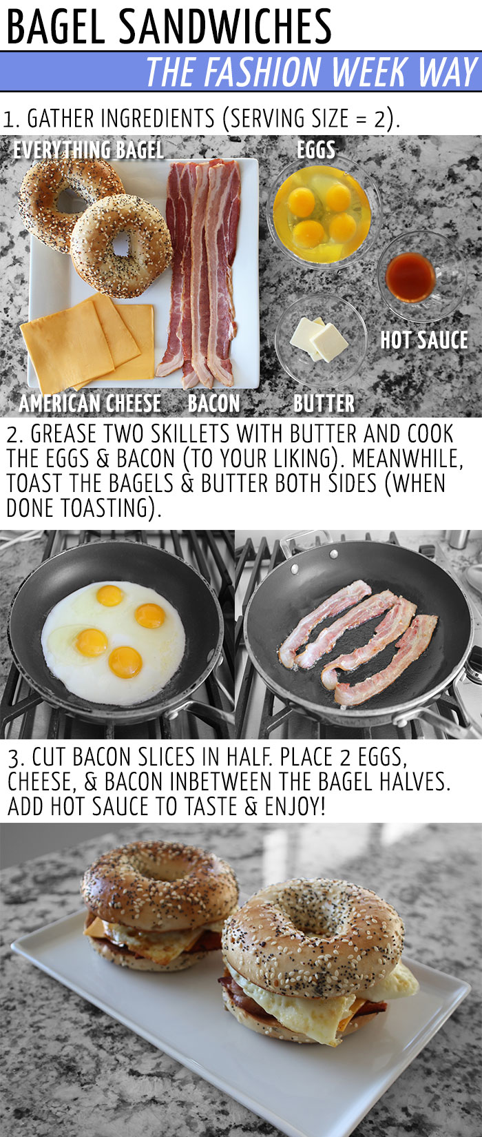 Bagel-Sandwich