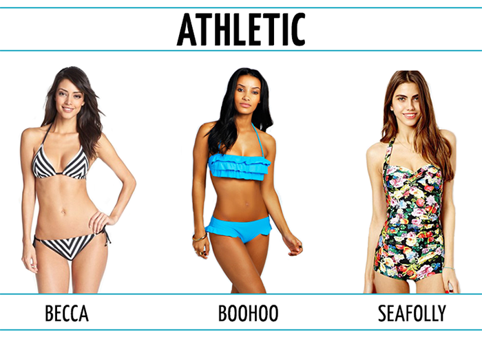 Pick the Right Bathing Suit for Your Body Type