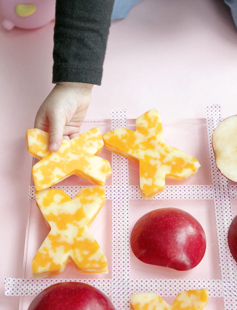 cheese-apples