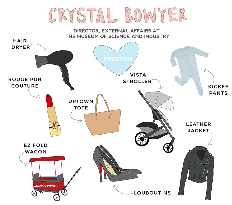 Crystal Bowyer works at the Museum of Science and Industry and is featured on Glitter and Bubbles as a Rad Mom.