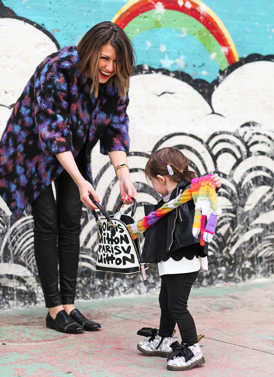 Playground fashion for mothers and daughters by Glitter and Bubbles.