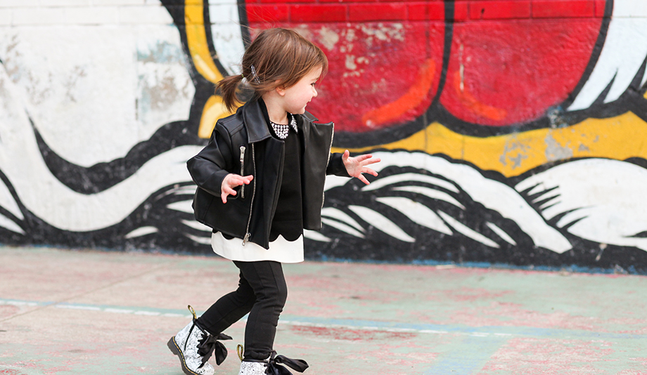 A Zelda Wears post featuring the Monica + Andy Vegan Leather Jacket by Glitter and Bubbles.
