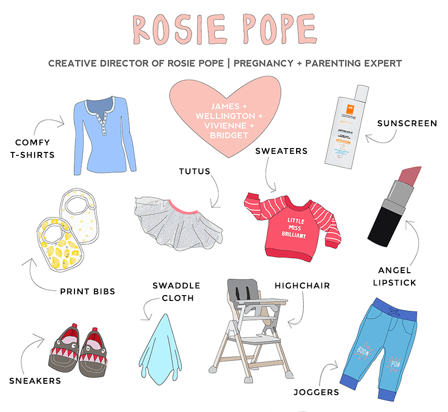 Rosie Pope is featured as a RAD Mom on Glitter and Bubbles.