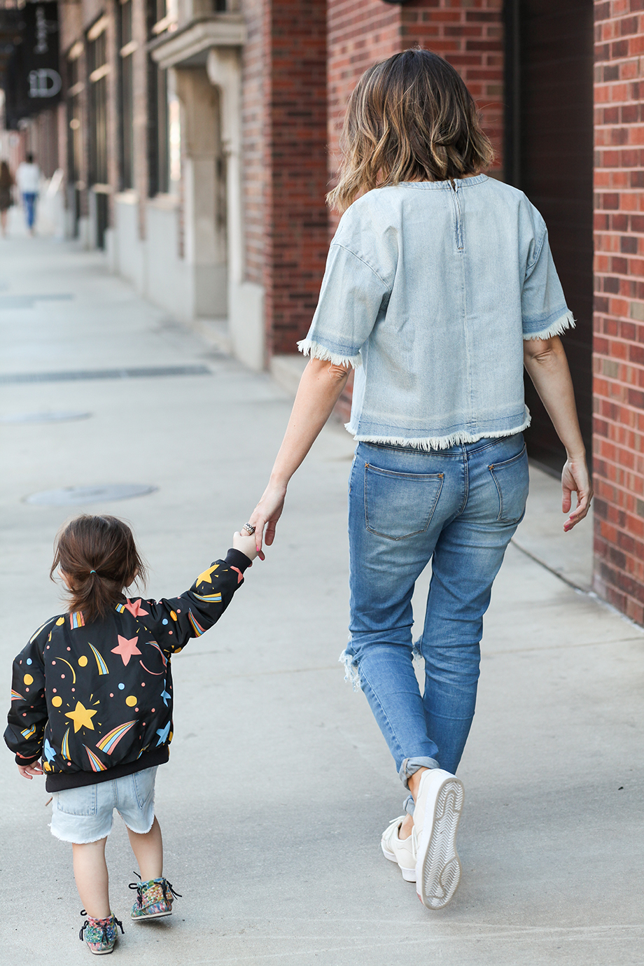 This is a mother daughter fashion post by Glitter and Bubbles.