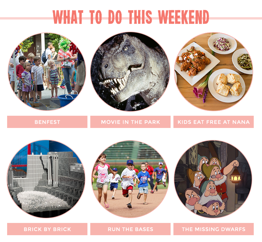 This is a post by Glitter and Bubbles that features weekend activities for kids in Chicago, Illinois and Milwaukee, Wisconsin.