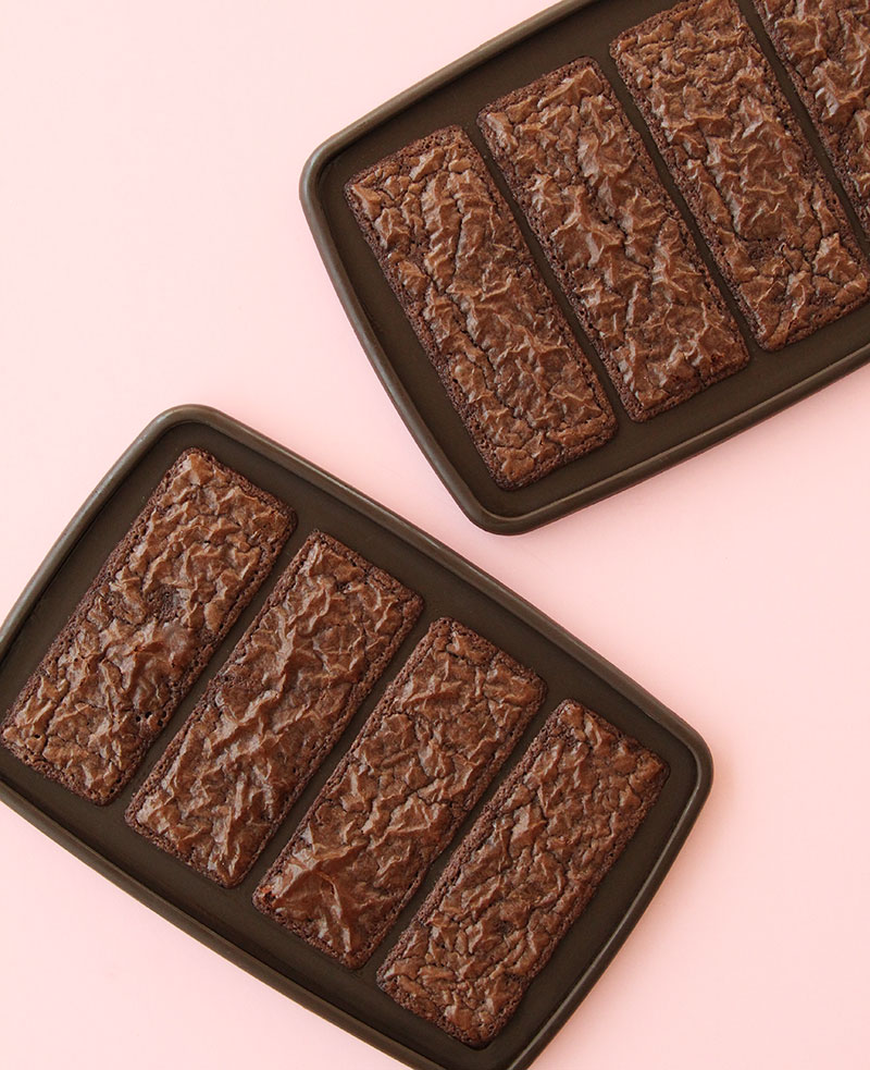 This is a recipe for Brownie Batter Ice Cream Sandwiches by Glitter and Bubbles.