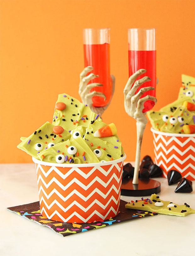 A collection of Halloween recipes by Glitter and Bubbles.