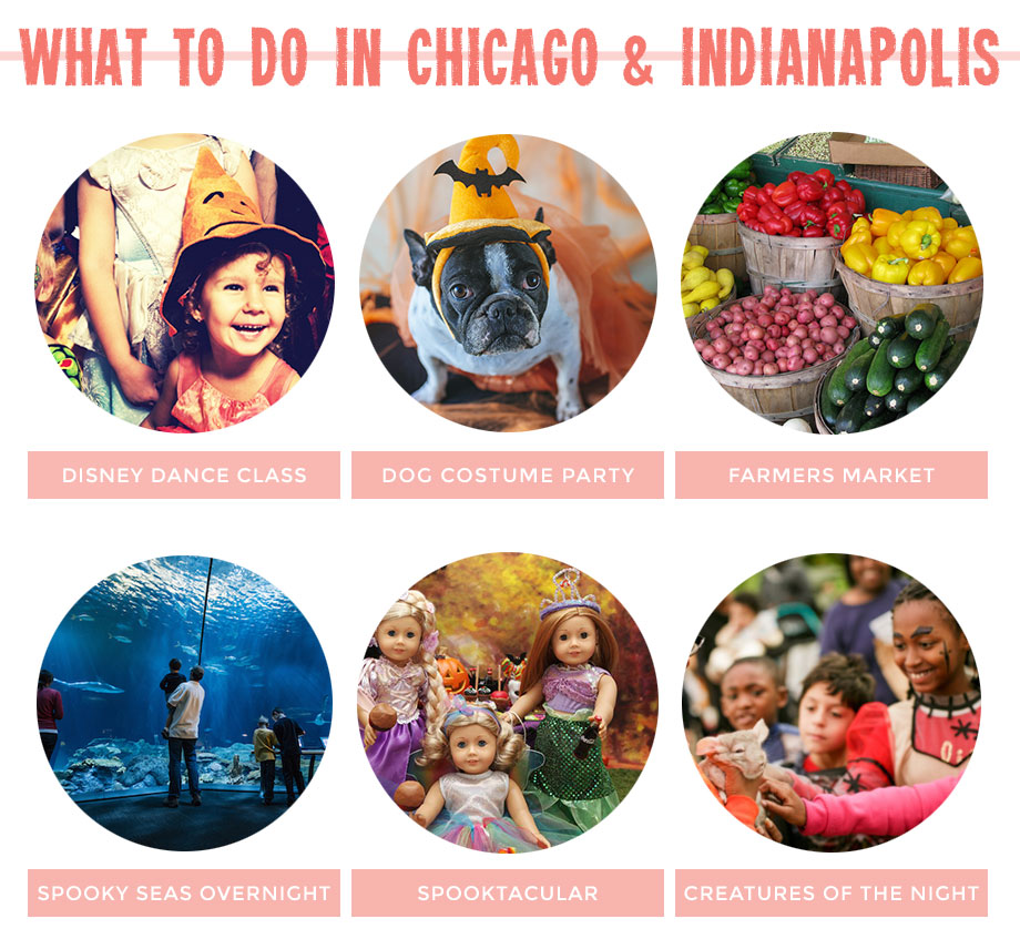 This features many kids Halloween activities in Chicago.