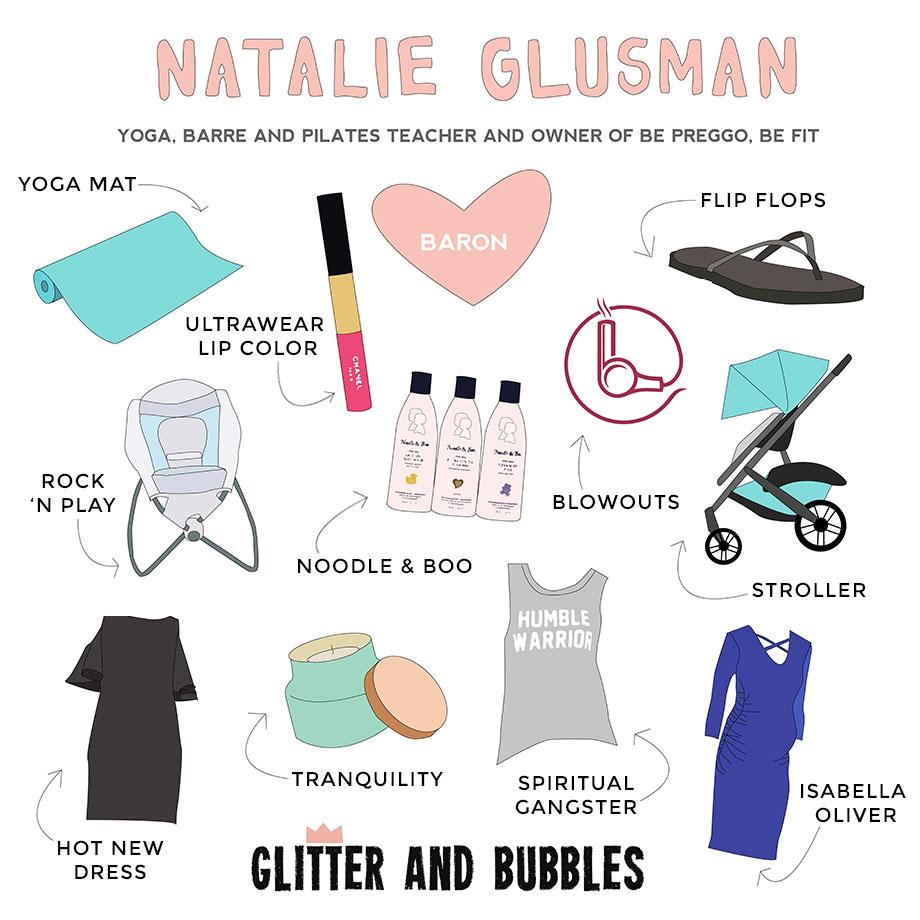Natalie Glusman's favorite things.