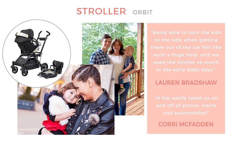 The Orbit stroller.