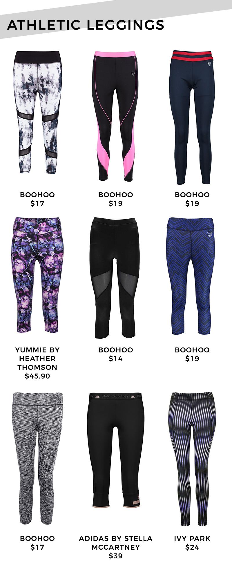 Athletic leggings under $50.