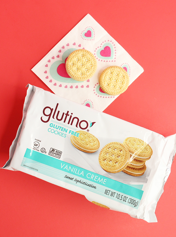 Glutino gluten free cookies.