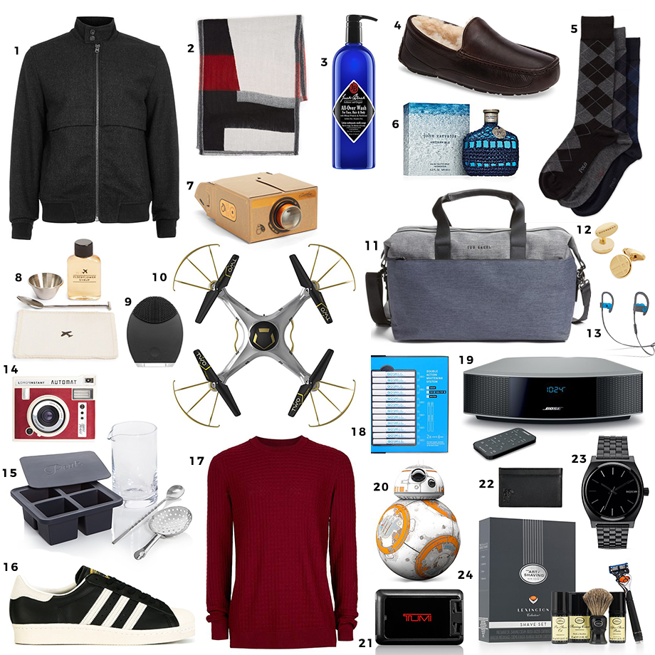 The ultimate gift guide for him.