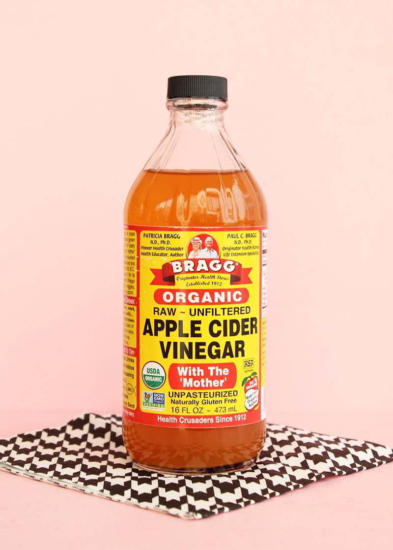 Bragg's apple cider vinegar.