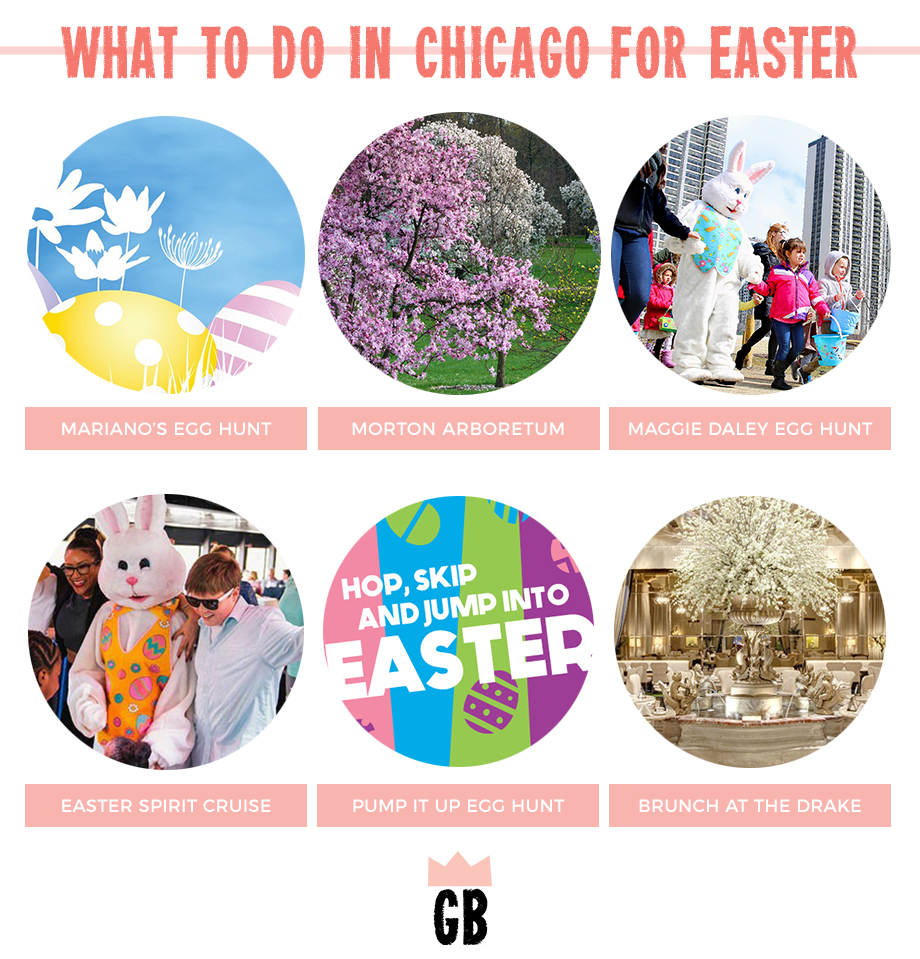 What do do in Chicago with kids on Easter weekend.