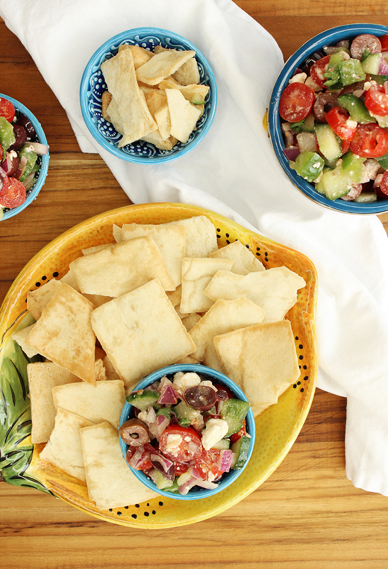 A summer recipe for Greek salsa.