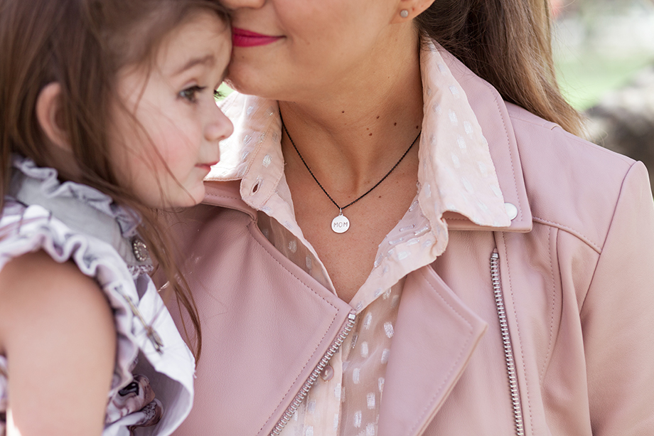 Win a Helen Ficalora Mom necklace in Sterling Silver.