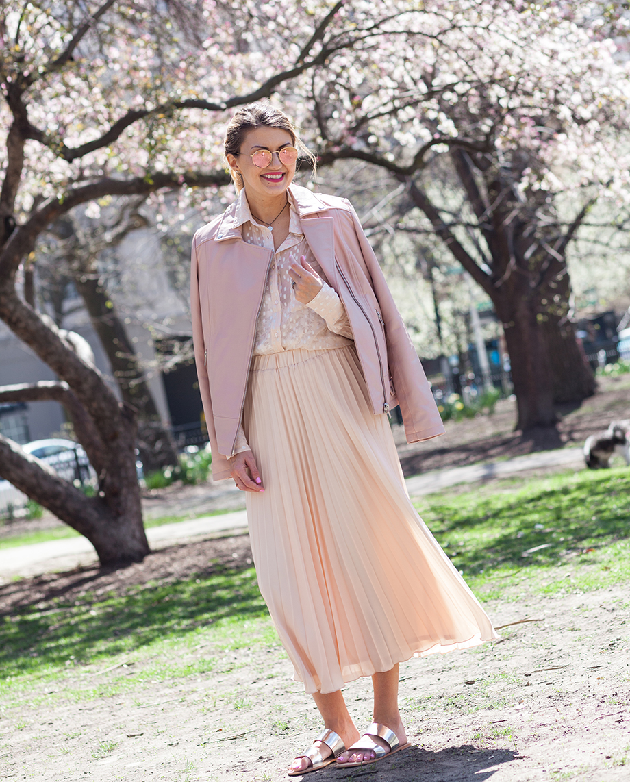 A pastel pink ensemble from Long Tall Sally.
