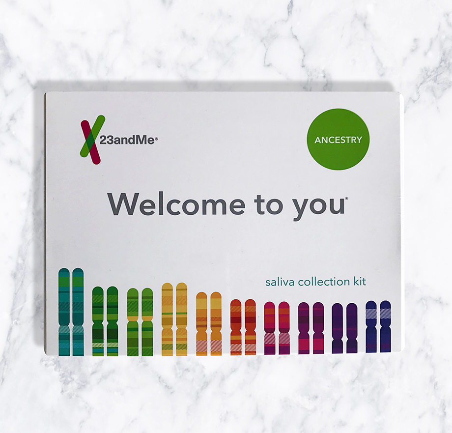 23and me genetic DNA testing.