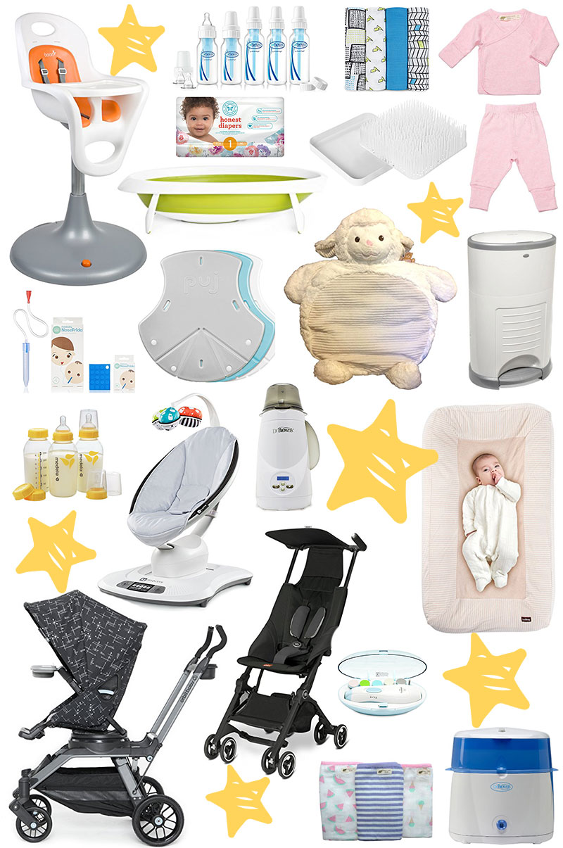 20 Items From My Baby Registry That I Actually Used