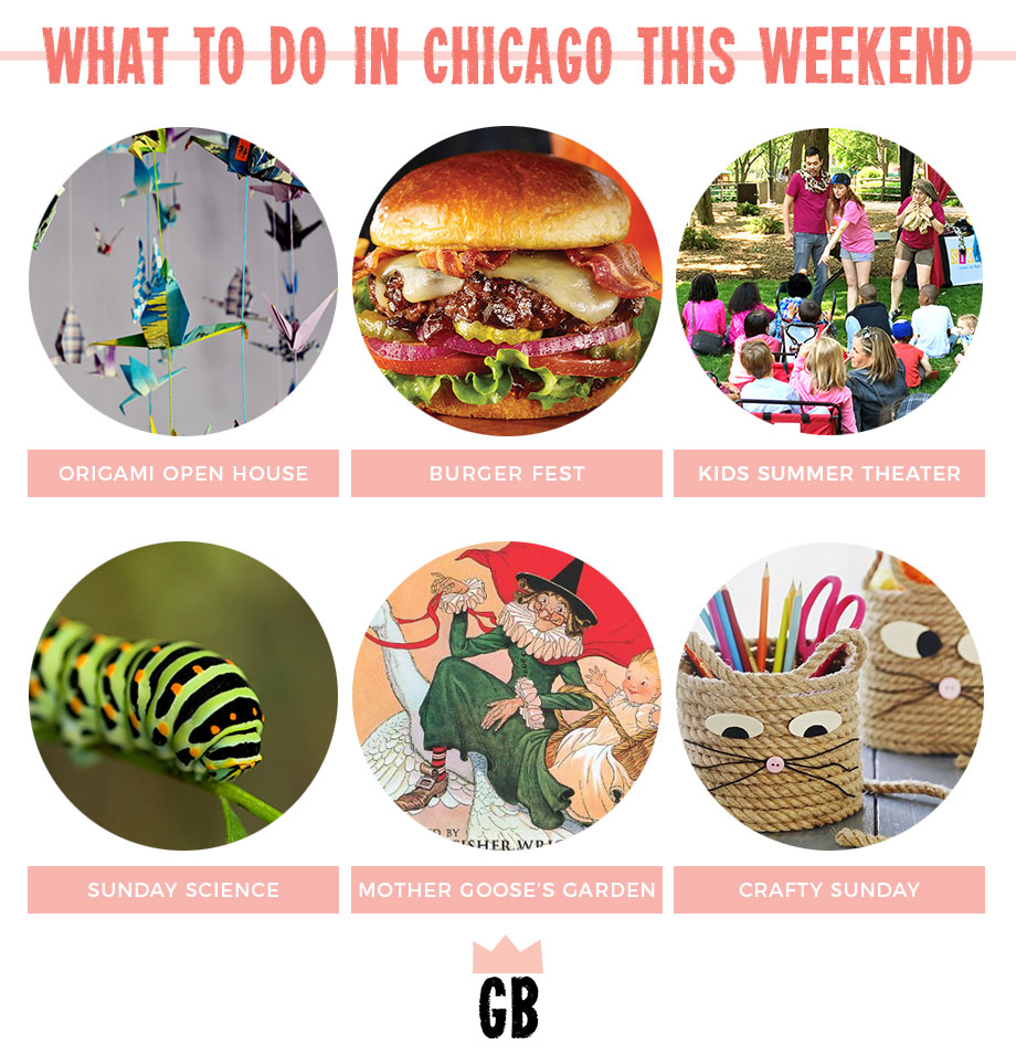 What to do in Chicago this weekend including an origami open house and Sunday science.