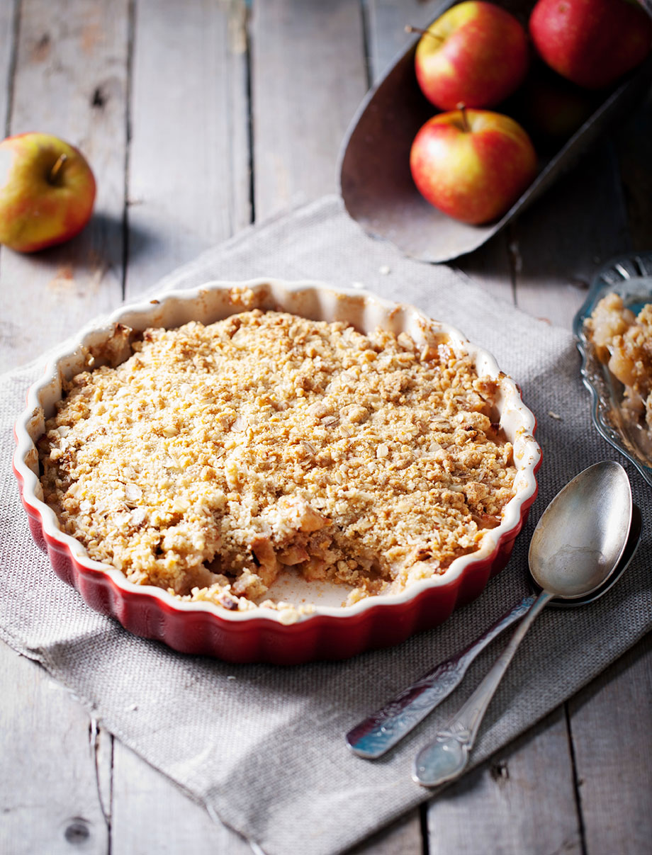 Apple Streusel Cake for back to school baking.