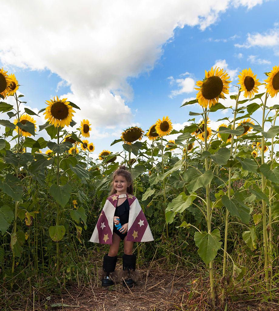 Pope Conservancy sunflower farm.