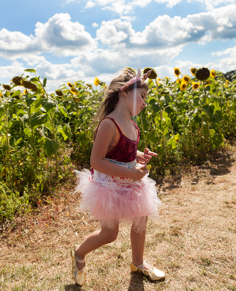Burning Man ballerina outfit.
