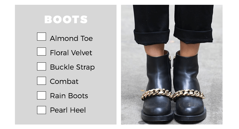 Boots under $75 fall checklist