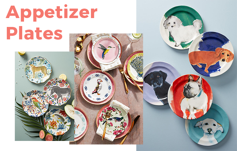 13 Items Under $100 You Need in Your Home: Appetizer Plates