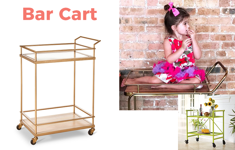 13 Items Under $100 You Need in Your Home: Bar Carts
