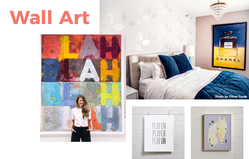 13 Items Under $100 You Need in Your Home: Wall Art
