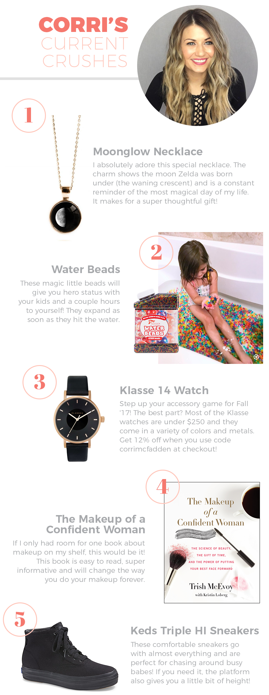Currently crushing on: Moonglow, Water Beads and More!