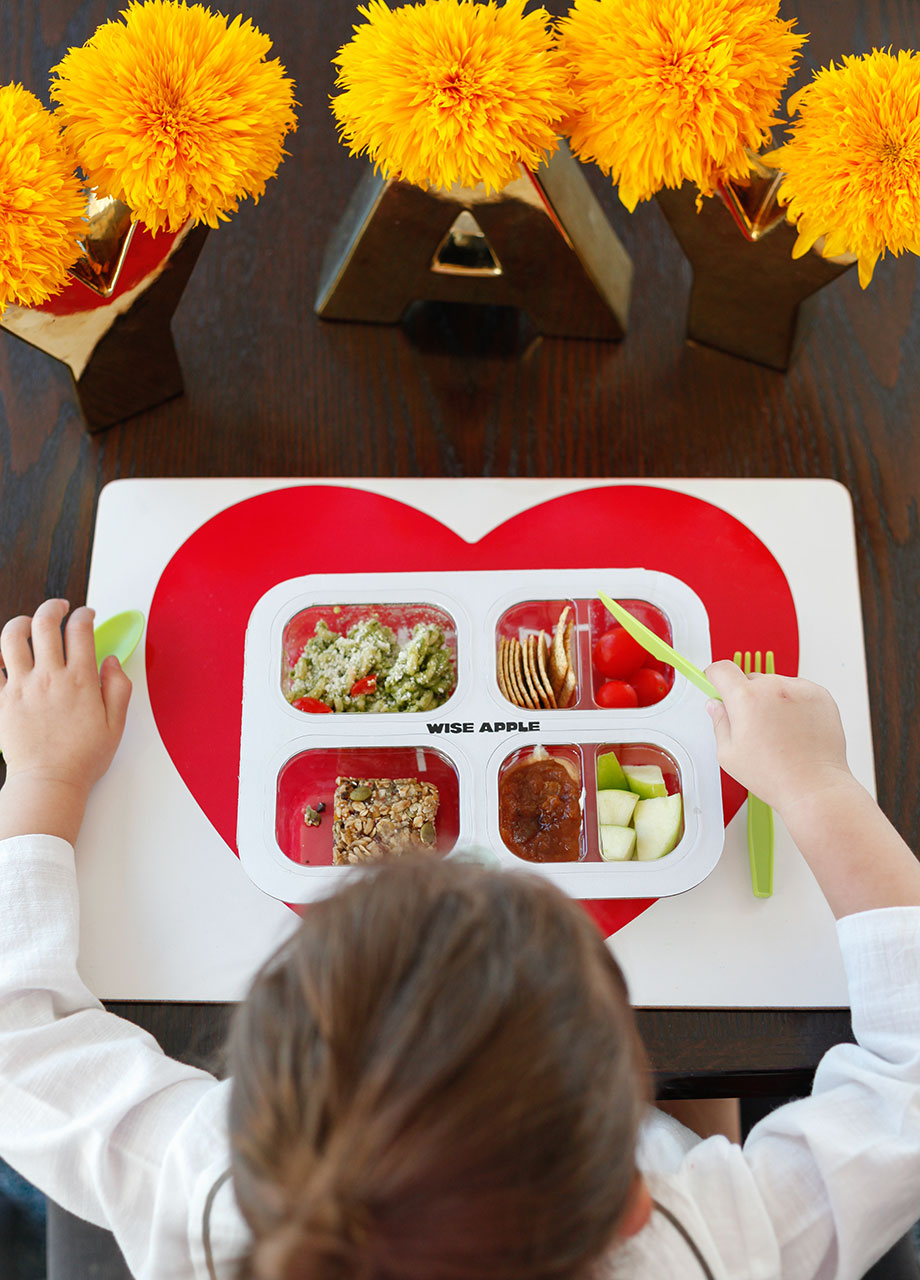 Wise Apple back to school lunches delivery to your door.