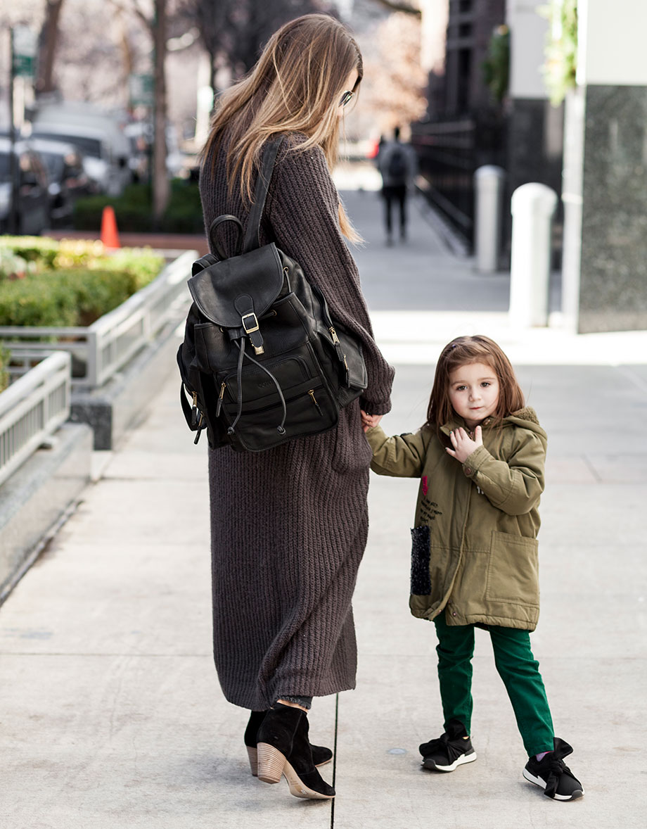 The perfect backpack for moms from Clava.