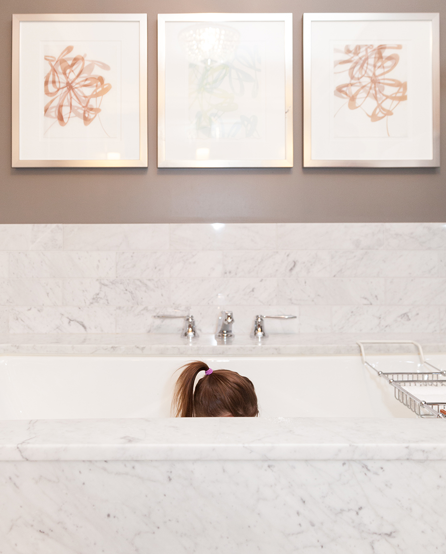 Bubble baths at the Waldorf Astoria Chicago.