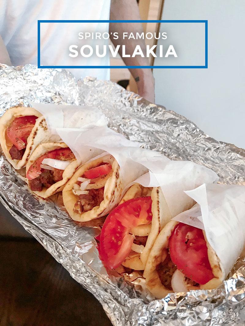 How make souvlakia like a Greek.