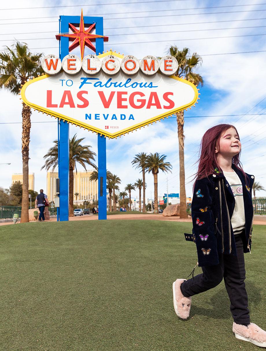 Zelda of Glitter and Bubbles leaves Las Vegas.