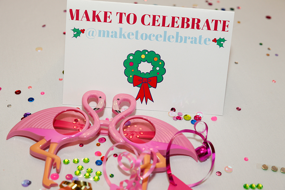Make to Celebrate at Zelda of Glitter and Bubbles birthday party.