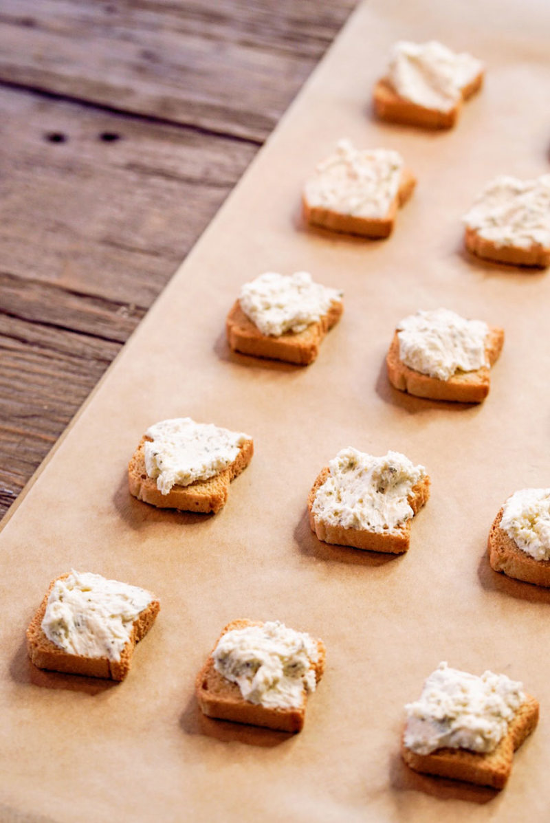 How to use Alouette Cheese to make the best holiday appetizer.