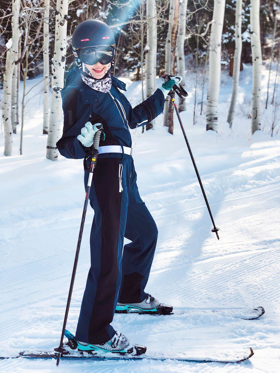 Learn how to ski as an adult with tips from Corri McFadden.